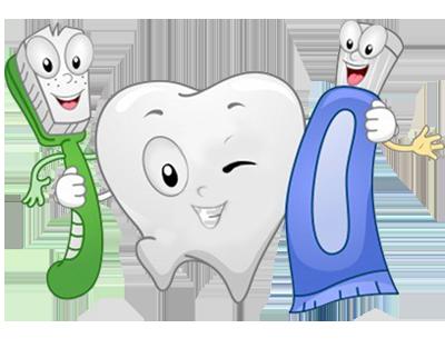 Prevenzione denti spazzolino e dentifricio